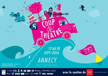 """COUP DE THEATRE"" DES AGITATEURS DE REVES"