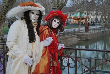 The Venetian Carnival of Annecy from 16th to 21th of February, 2016