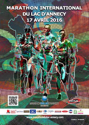 The Lake Annecy Marathon April 17th 2016