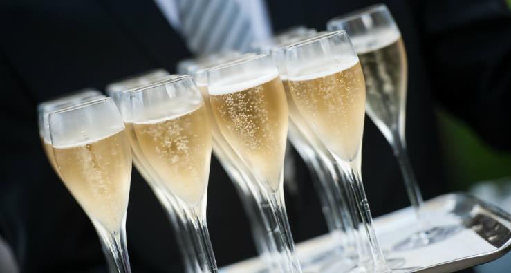 champagne evenements
