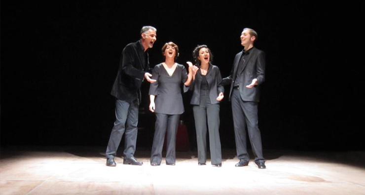 Quartetto Urbano, quatuor vocal