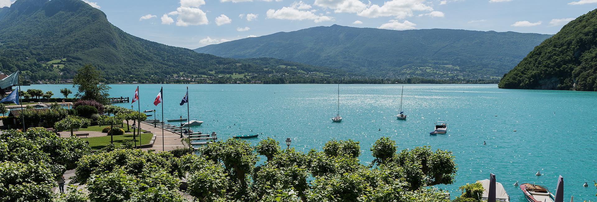 Activites à Annecy, Découverte du Lac d\'Annecy