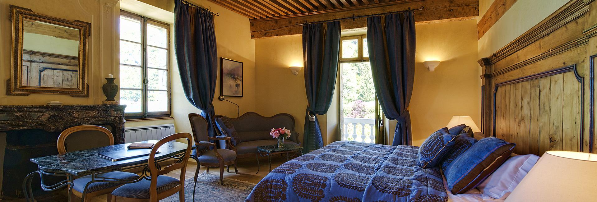 Chambres et suites de l'Abbaye de Talloires